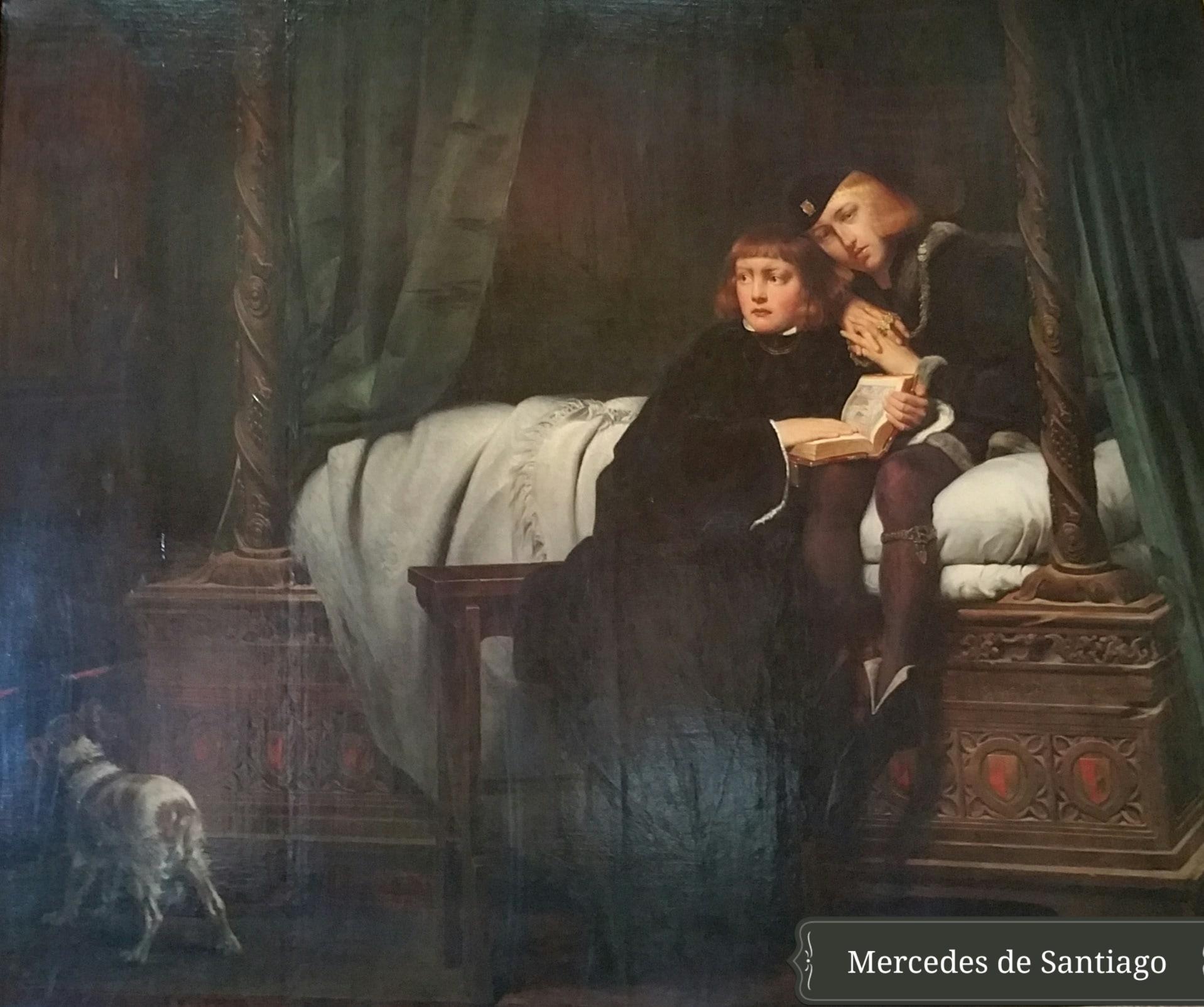 el rey menor Eduardo V y su hermano Duque de York