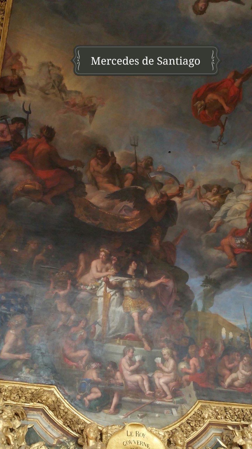 el rey gobierna por sí mismo Versalles