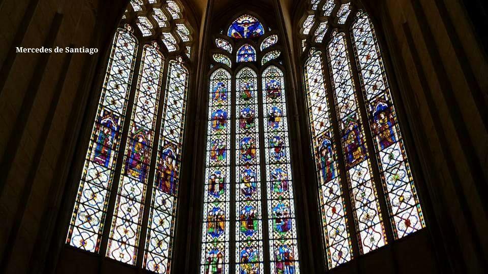 Vidrieras de la Catedral de San Nazario Carcasona