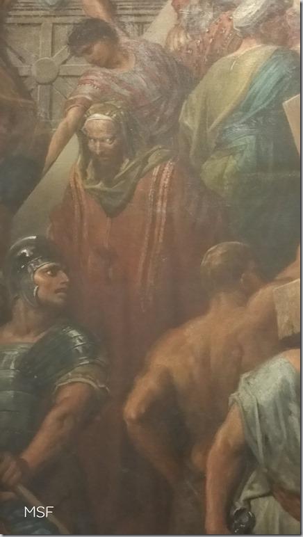 Judas_detalle de Cristo bajando del pretorio Gustavo Doré