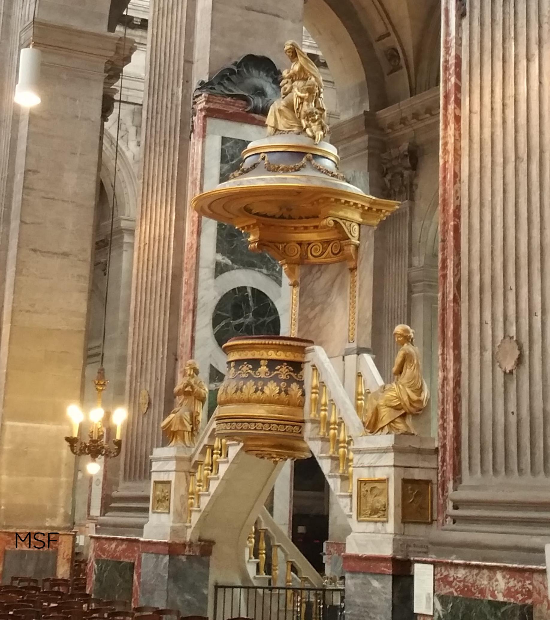 Púlpito de San Sulpicio 1788