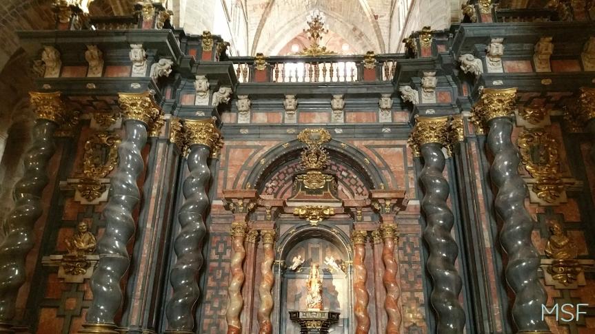 Catedral de Sigüenza Altar del TRascoro