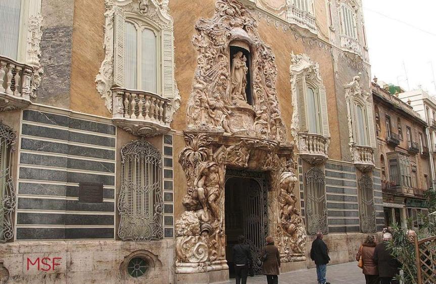Palacio del Marqués de Dos Aguas MNCAS Valencia