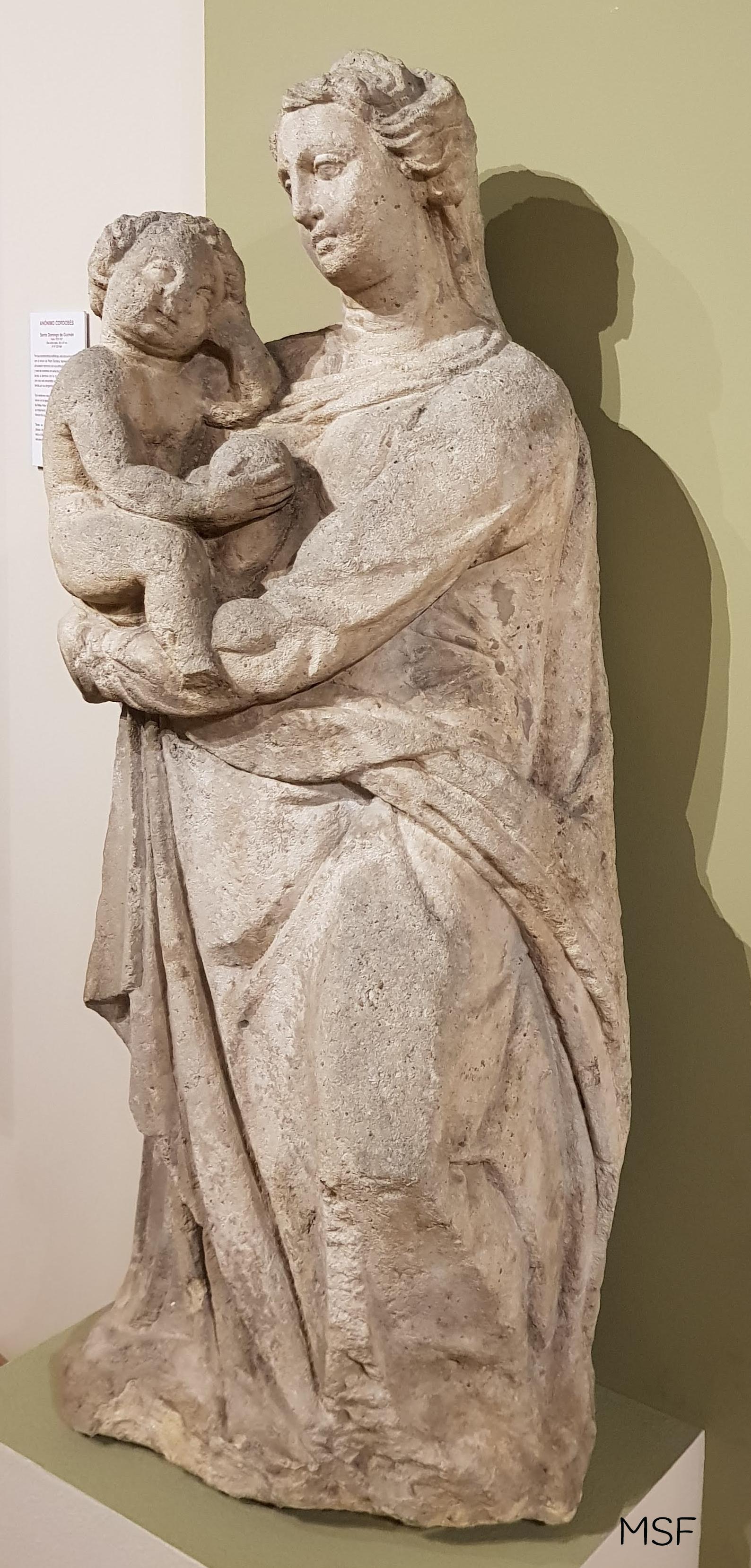 Virgen con Niño MBAC